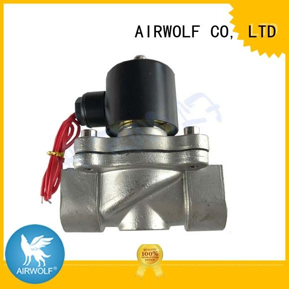 ODM stainless steel solenoid valves for water at discount gas pipe AIRWOLF