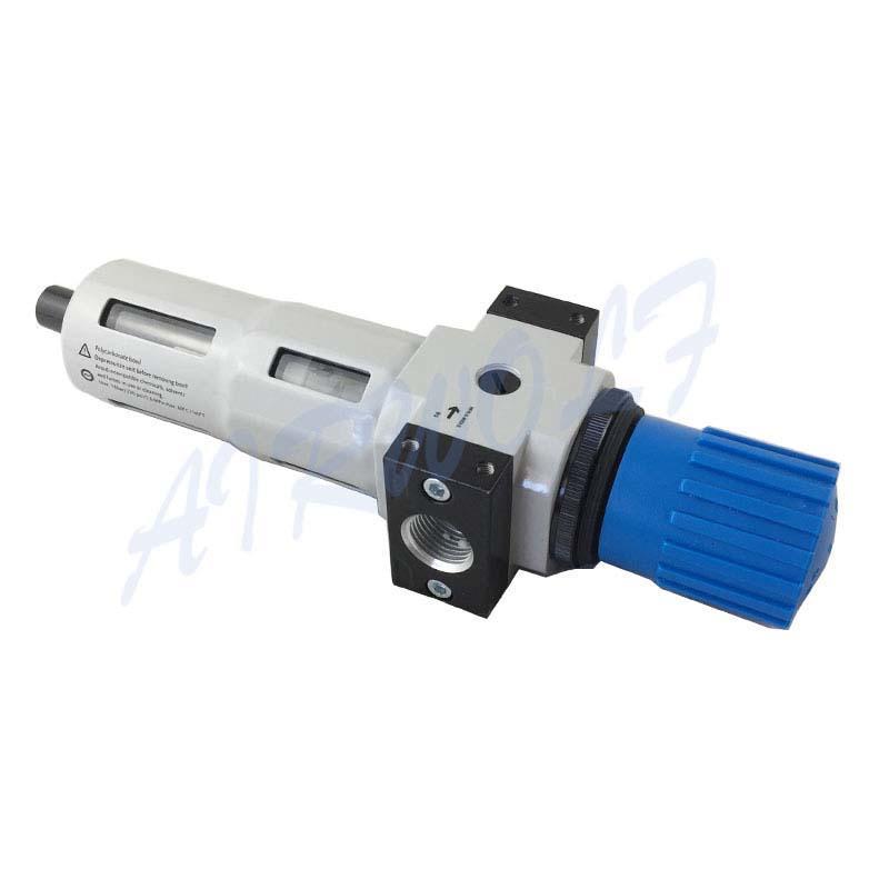 Filter regulators  G1/2   Air Pneumatic Regulator  White Drain Type Air Preparation Units