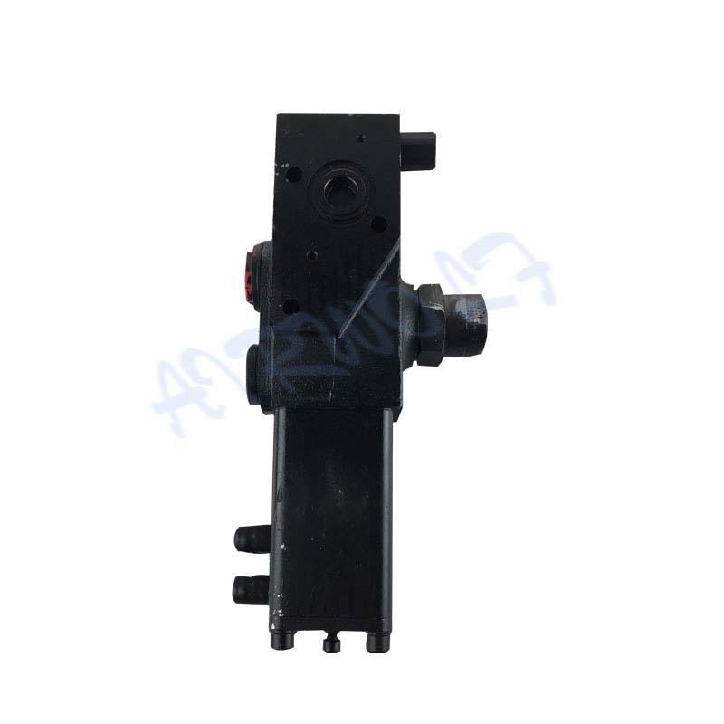 PT1220-220 Black hydraulic Single Pressure Dump Truck PT Valve Tipping valves