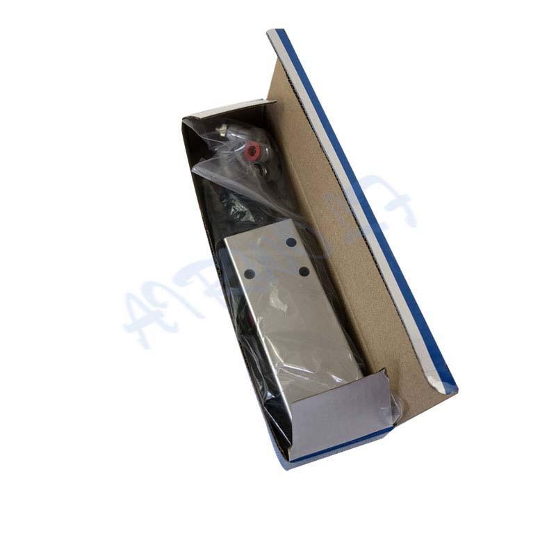 XQF22-B silver Aluminum alloy CAB control 3/2 way pneumatic Manual Valves Limit Dump Truck Valve