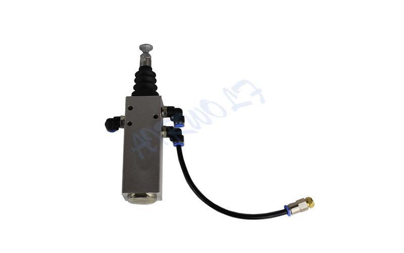Custom valve control hydraulic tipping valve AIRWOLF dump