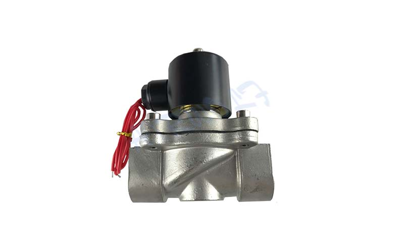 stainless steel solenoid water control valve OEM draining system gas pipe-4