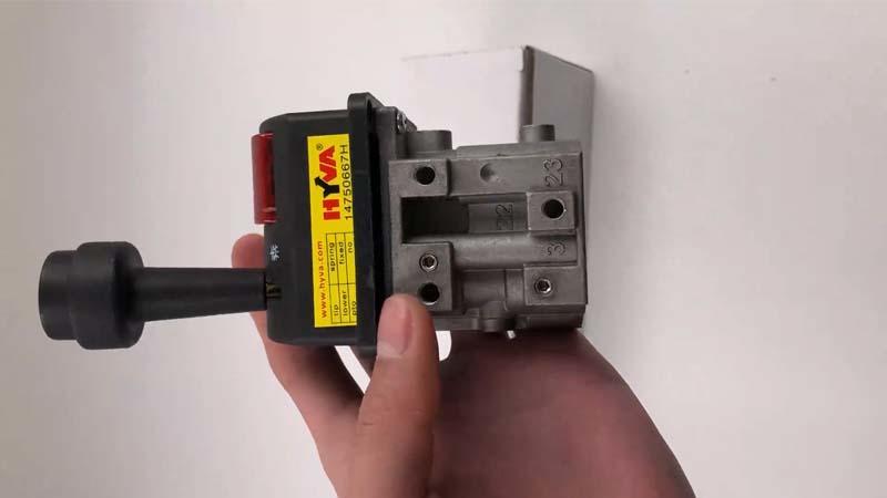 Aluminium Alloy Air Control Tipping Valve 14750665H BKQF34-A