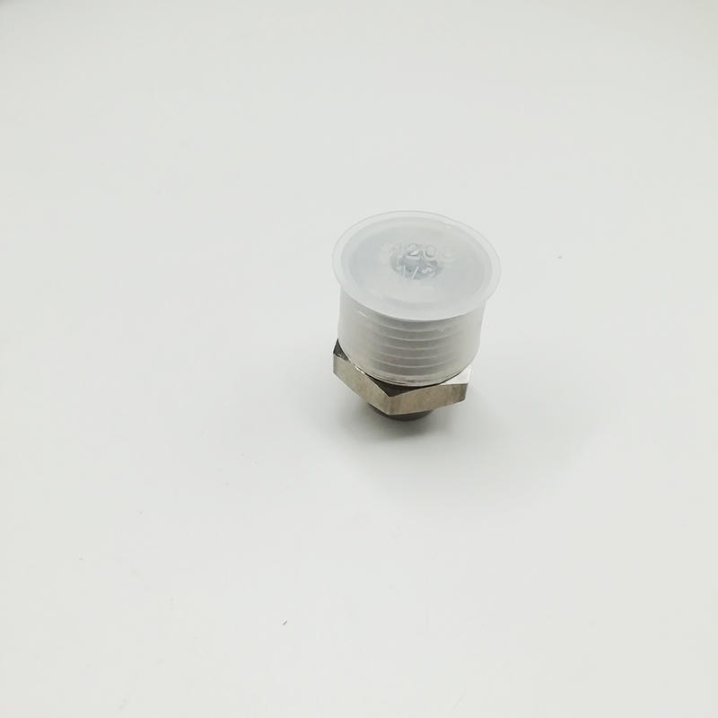 Solenoid Valve PC8-04 NPT 1/2 Inch Copper Nickel Plating Push In Quick Pneumatic Fitting