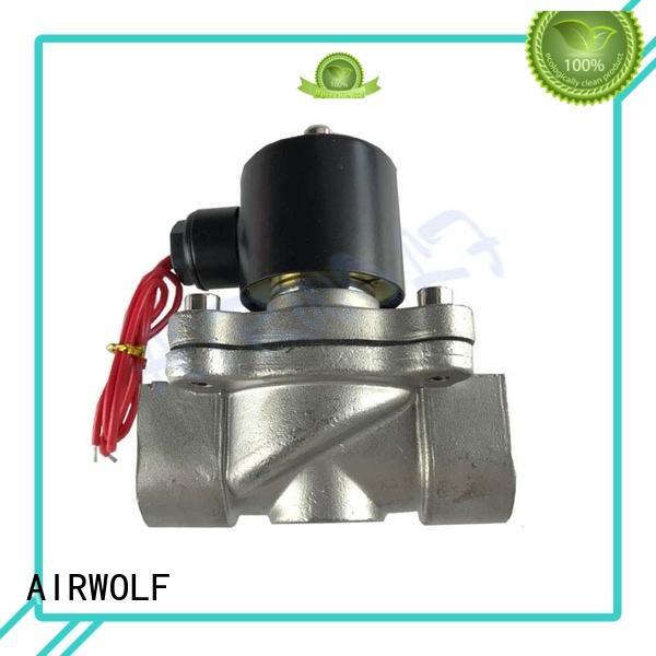 timer normally open solenoid valve water auto water AIRWOLF