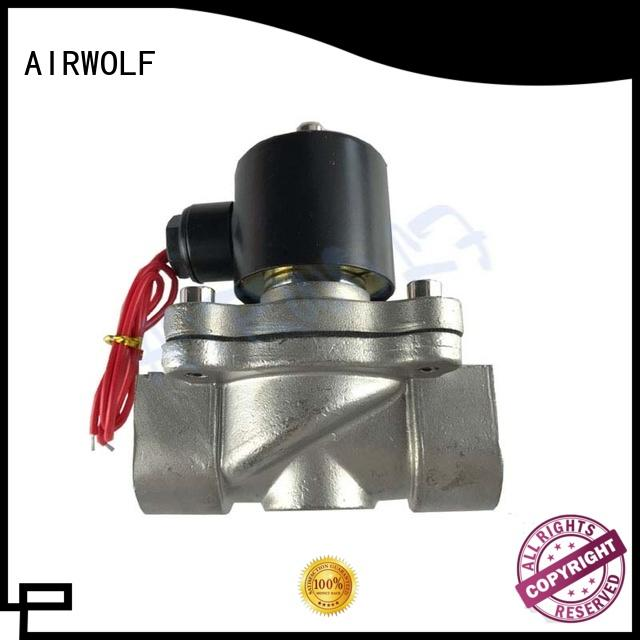 stainless steel solenoid water control valve highly-rated draining system