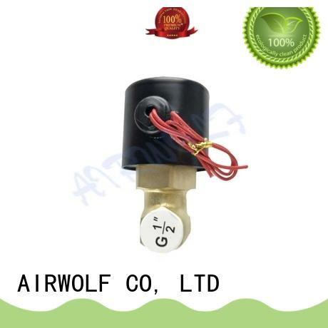 normally open solenoid valve water OEM gas pipe AIRWOLF