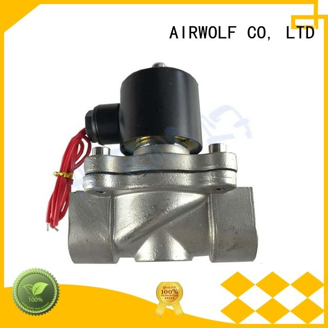 stainless steel solenoid water control valve OEM draining system gas pipe