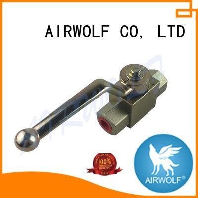 way hydraulic steel stainless AIRWOLF Brand hydraulic ball valve manufacturers supplier