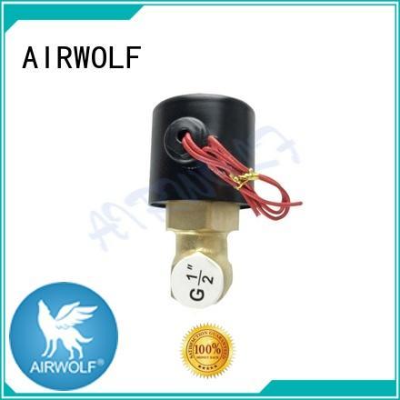 brass solenoid valves water auto auto AIRWOLF