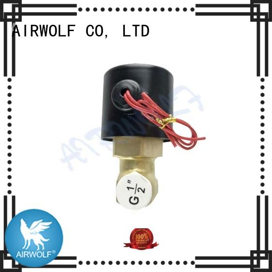 valve normally steel solenoid operated water valve AIRWOLF Brand company