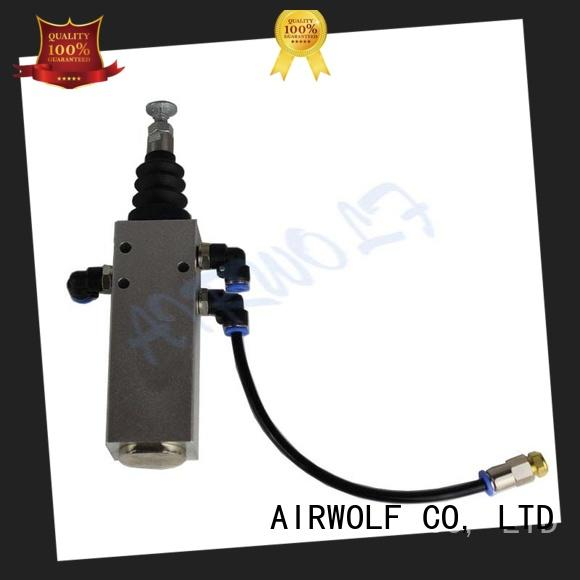button tipping valve ask water