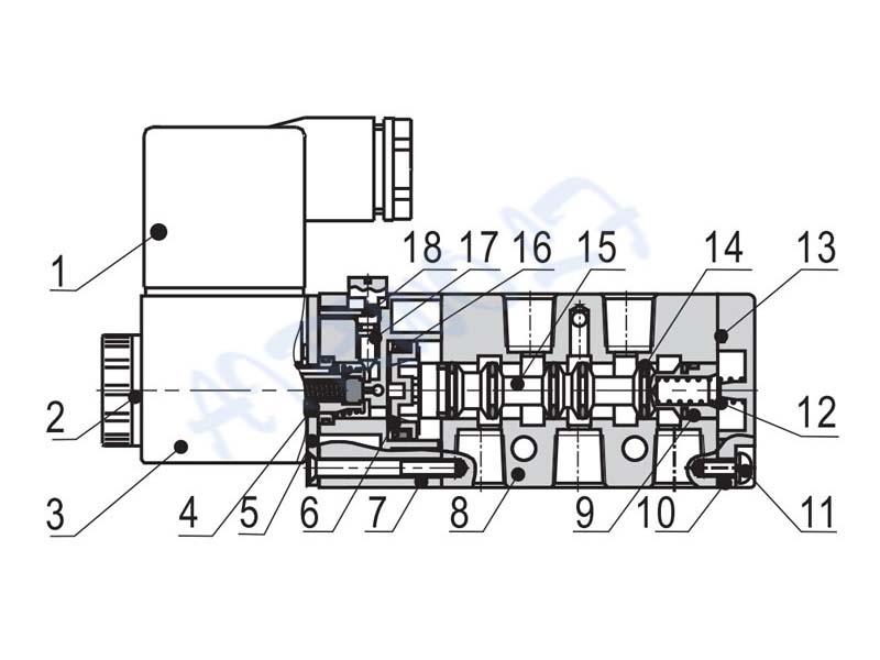 AIRWOLF high-quality solenoid valves spool liquid pipe-6