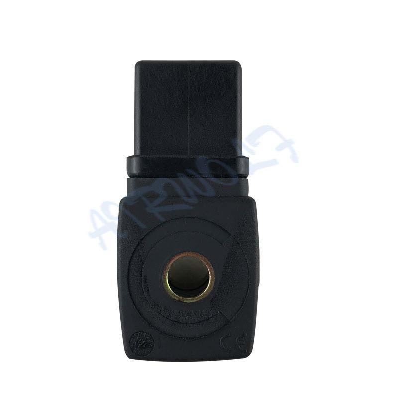 4835 series 483510S6 black electromagnetic coil plastic AC220V DC24V solenoid coil