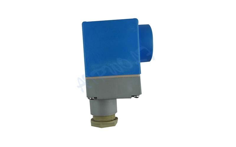 AIRWOLF custom solenoid valve coil spade for enclosures-8
