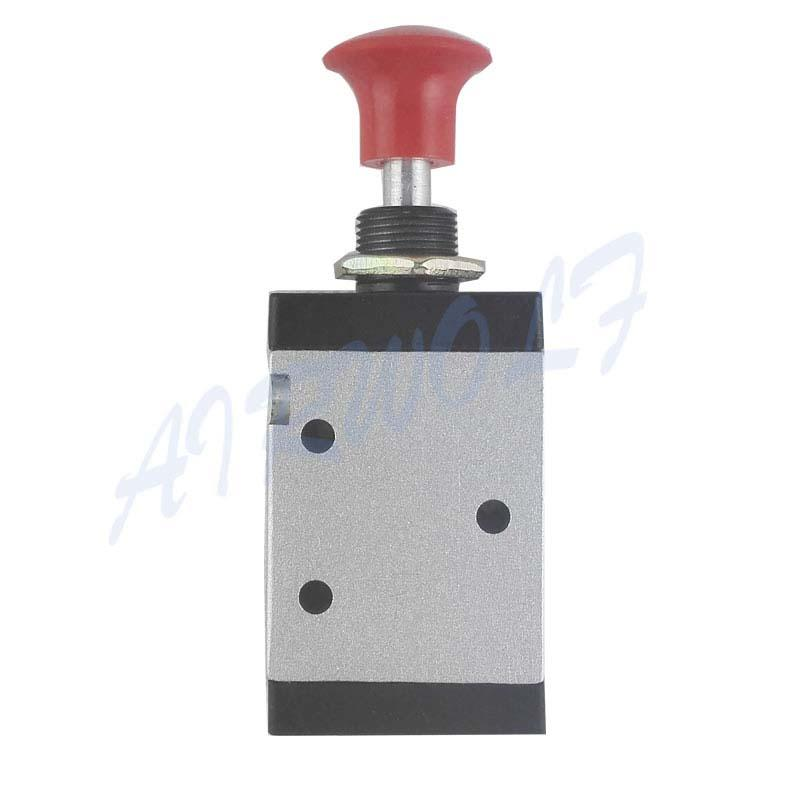 3L-210-08 1/4  Mechanical valve 3 port 2 position hand valve  Pneumatic control valve