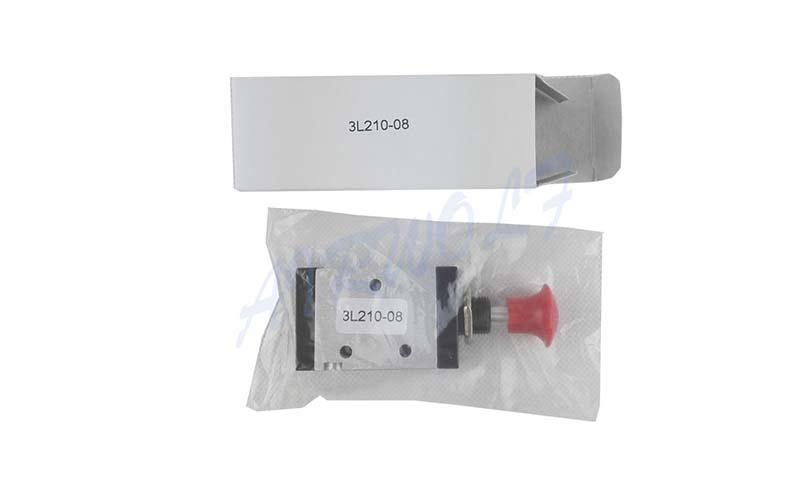 AIRWOLF convenient pneumatic push button valve red wholesale-5