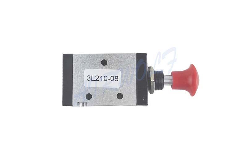 AIRWOLF convenient pneumatic push button valve red wholesale-6