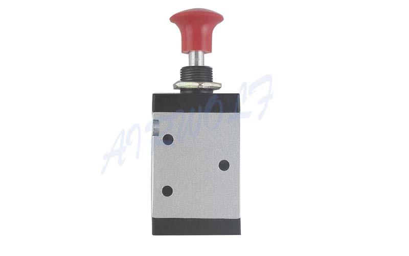 AIRWOLF convenient pneumatic push button valve red wholesale-7