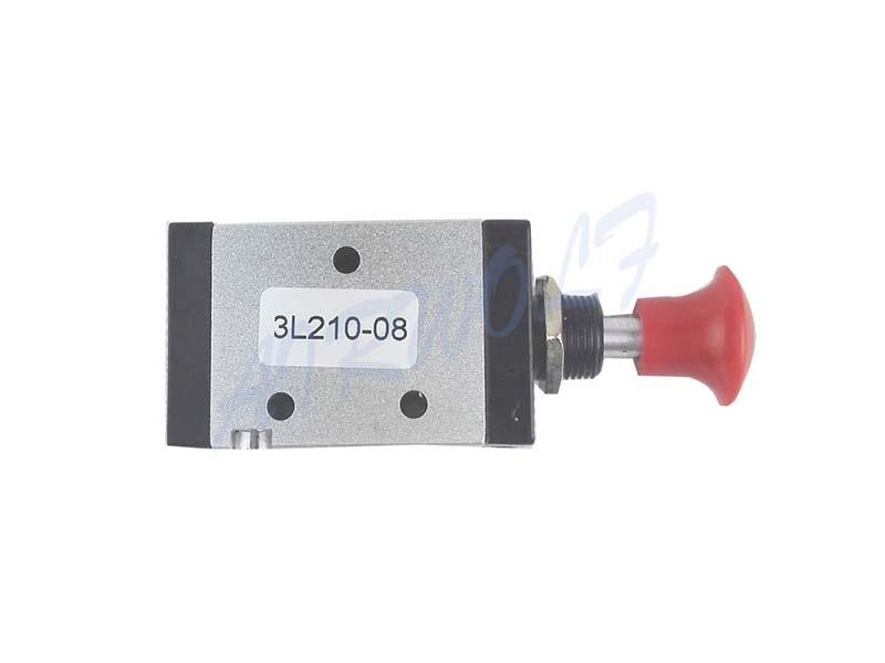 AIRWOLF convenient pneumatic push button valve red wholesale-9