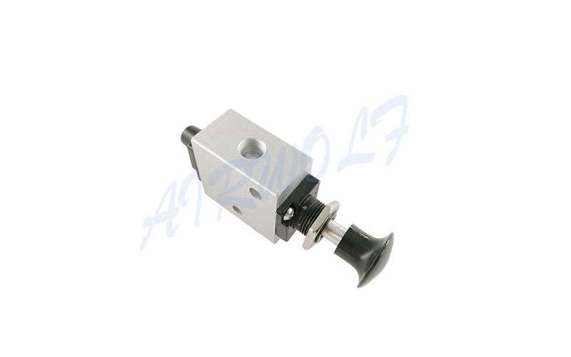 slide pneumatic push button valve high quality control wholesale