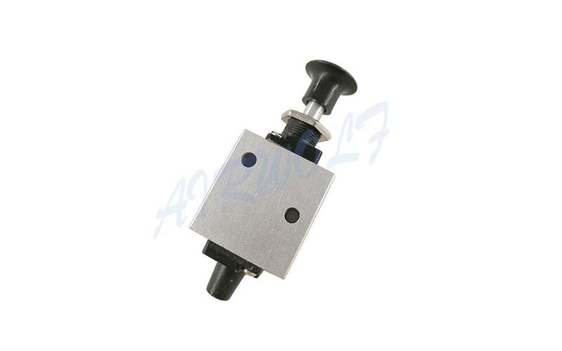 slide pneumatic push button valve high quality control wholesale-4
