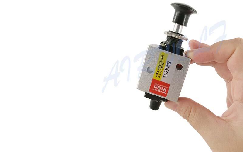 slide pneumatic push button valve high quality control wholesale-6