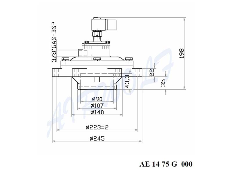 AIRWOLF electronic valve pulse jet engine wholesale dust blowout-4