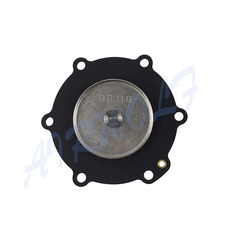 Diaphragm Valve Repair Kit, Black Nitrile Buna DB116 2
