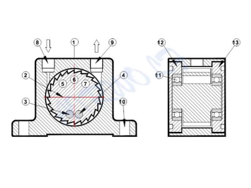 AIRWOLF hot-sale pneumatic vibration equipment black for wholesale-9