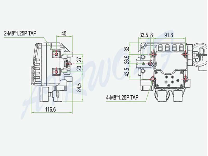 AIRWOLF pneumatic actuator custom for wholesale-6