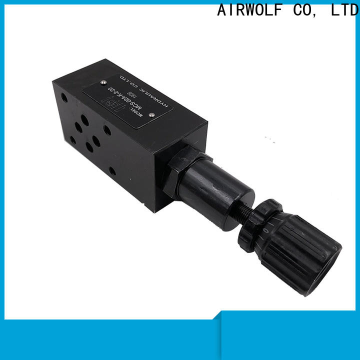 AIRWOLF cheap hydraulic directional control valve bulk production truck unloading carriage unloading