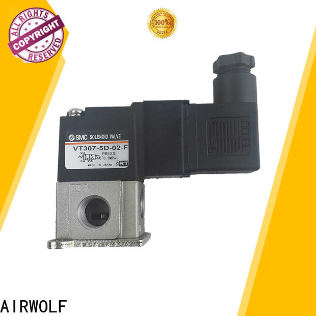 aluminium alloy solenoid valves high-quality way direction system