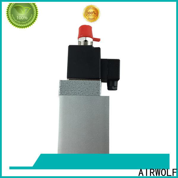 AIRWOLF customized pneumatic solenoid valve single pilot direction system