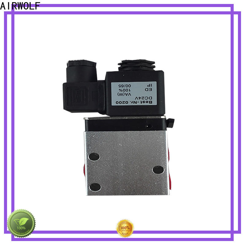 AIRWOLF OEM pneumatic solenoid valve magnetic direction system