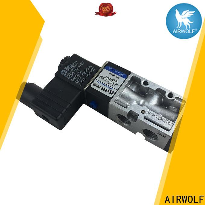 AIRWOLF single solenoid valve way adjustable system