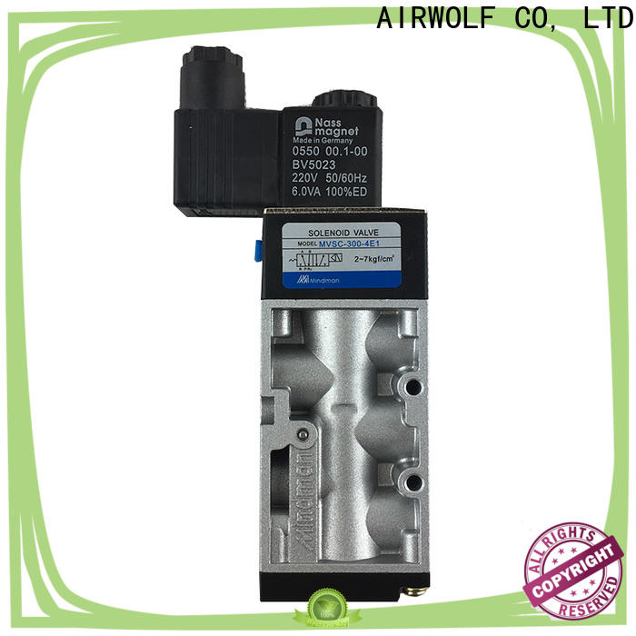 AIRWOLF high-quality pneumatic solenoid valve magnetic water pipe
