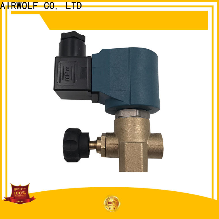 AIRWOLF solenoid valves operated liquid pipe