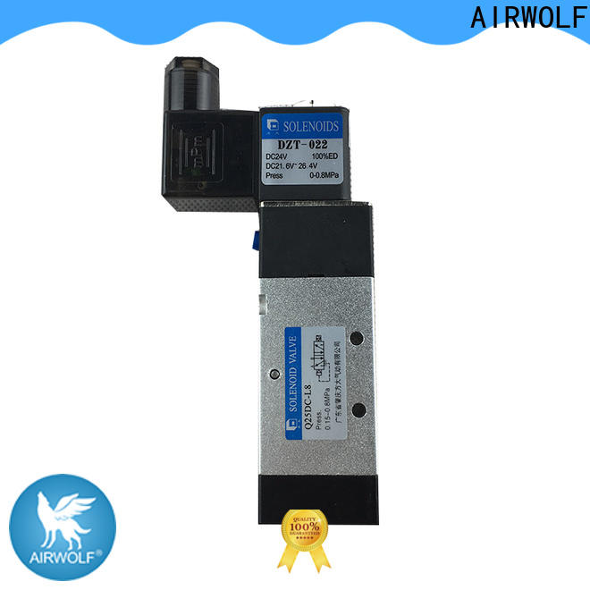 AIRWOLF aluminium alloy solenoid valves body adjustable system