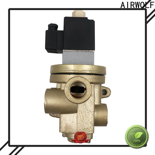 AIRWOLF single solenoid valve single pilot for gas pipelines