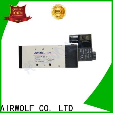 AIRWOLF wholesale solenoid valves single pilot direction system