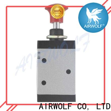 AIRWOLF high quality pneumatic manual control valve exhaust wholesale