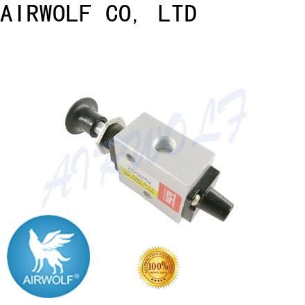 AIRWOLF manual pneumatic manual valves flow bulk production