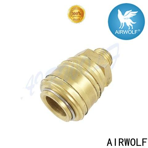 AIRWOLF stainless pneumatic pipe fittings stainless steel fluids industries