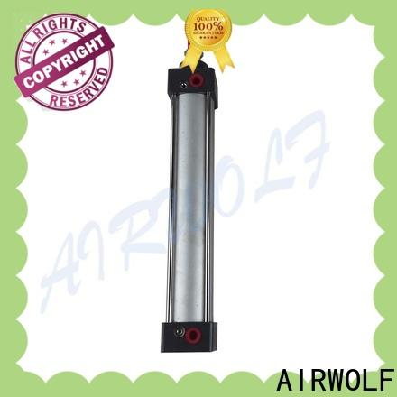 AIRWOLF rodless pneumatic air cylinders aluminium alloy gas transmission