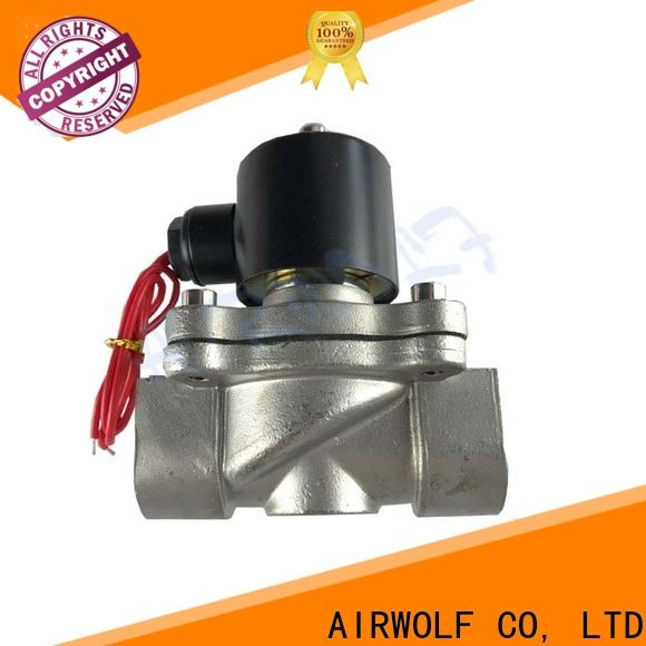 AIRWOLF highly-rated solenoid water control valve high quality gas pipe