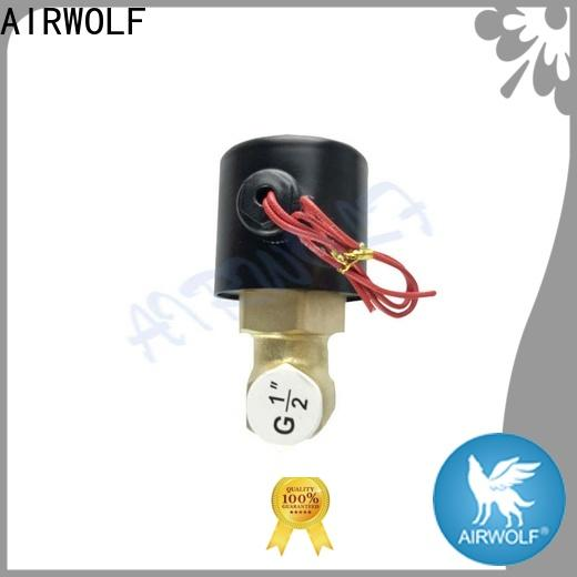 normal close solenoid water control valve OEM durable water pipe