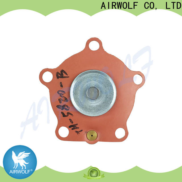 AIRWOLF turbo diaphragm valve repair fitted electronics industry