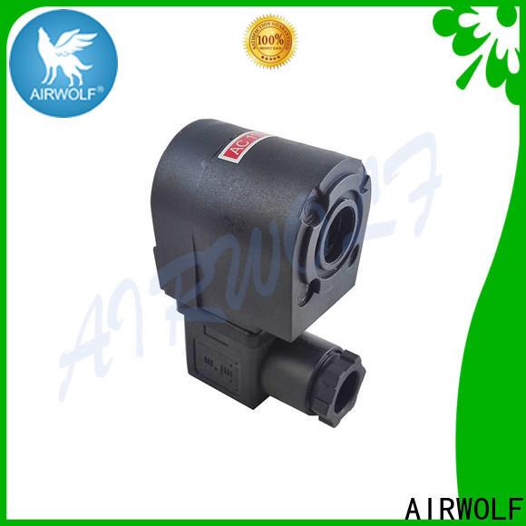 AIRWOLF custom industrial solenoid coils pilots for enclosures