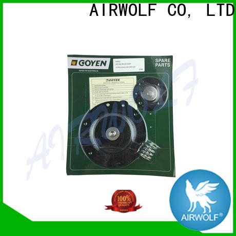 AIRWOLF stainless steel diaphragm valve repair air treatment